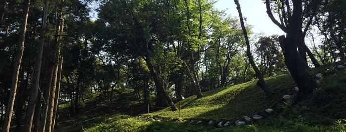 長柄桜山古墳群第一号墳 is one of 三浦半島の山々.