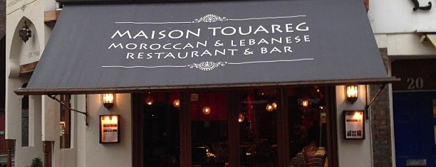 Maison Touareg is one of London food.