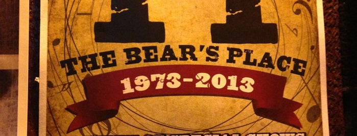 TT the Bear's Place is one of Nearby Neighborhoods: Central Square.