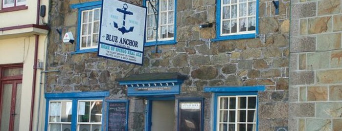 Blue Anchor is one of Pubs - Brewpubs & Breweries.