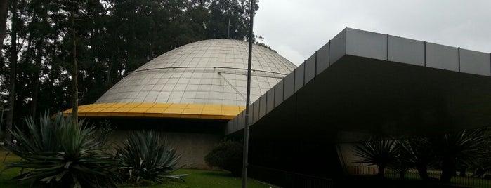 Planetário Professor Aristóteles Orsini is one of em Sampa.