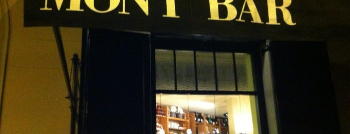 Mont Bar is one of comer.