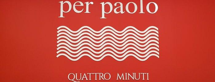 Per Paolo - quatro minutti is one of Fábio.