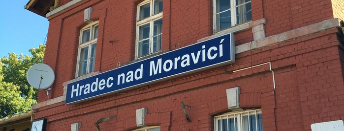 Železniční stanice Hradec nad Moravicí is one of Železniční stanice ČR: H (3/14).