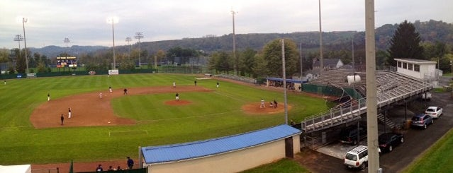Hawley Field is one of WV.