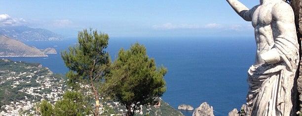Monte Solaro is one of A spasso per Capri - Napoli - Campania.