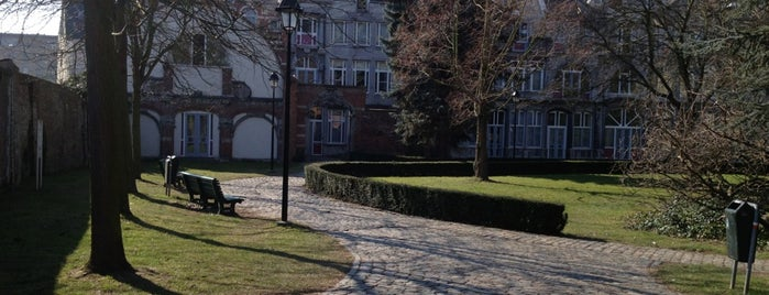 Klein Begijnhof is one of My favorite places in Leuven, Belgium  #4sqCities.
