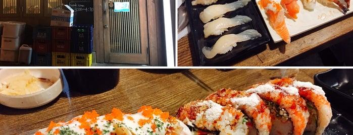 기다스시 is one of Itaewon food.