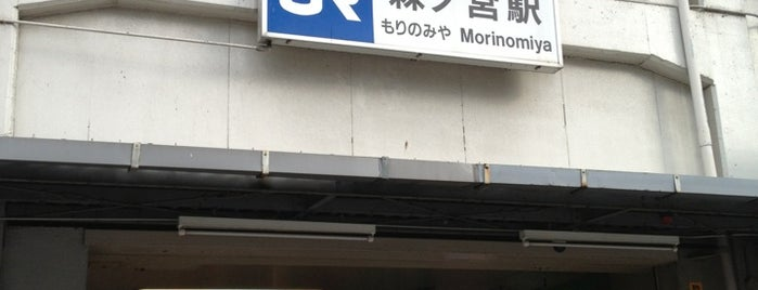 JR Morinomiya Station is one of JR線の駅.