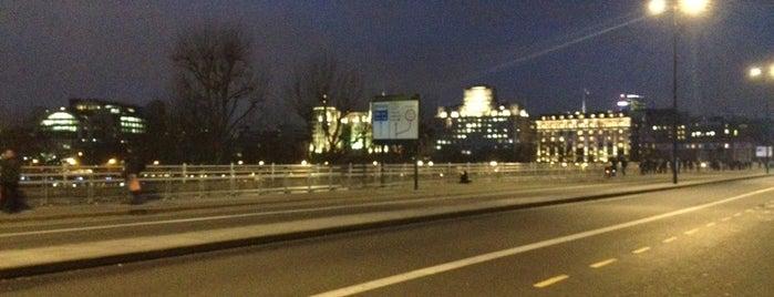 Waterloo Bridge is one of Places to Visit in London.