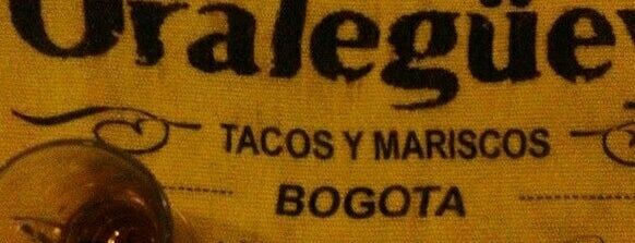 Oralegüey! is one of Restaurantes Mexicanos!!!.