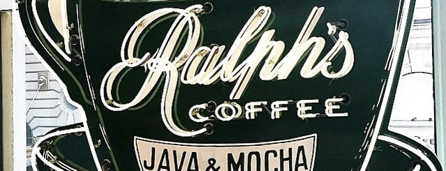 Ralph's Coffee Shop is one of Around Work.