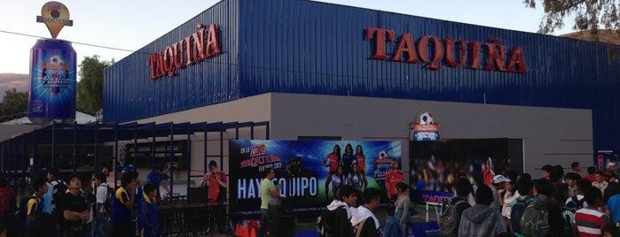 Zona Taquiña is one of Alex.