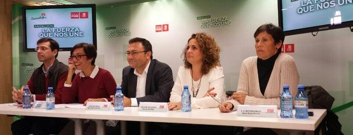 PSOE de Málaga is one of Agrupaciones / Casas del Pueblo del PSOE Málaga.