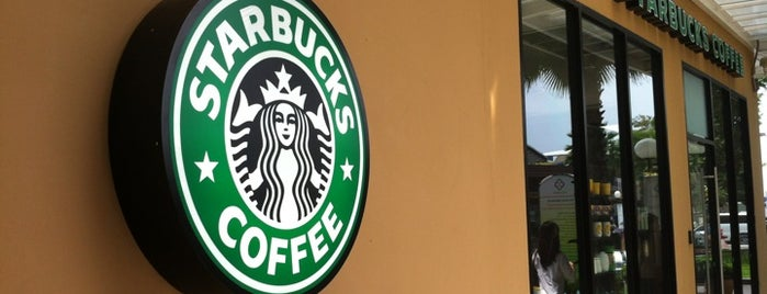 Starbucks is one of The Circle Ratchapruk.