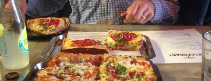 Descendant Detroit Style Pizza is one of Toronto.