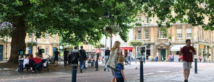 Kingsmead Square is one of Bath.