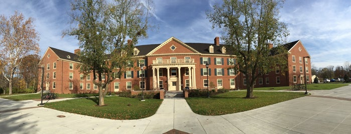 Dennison Hall is one of Miami U.
