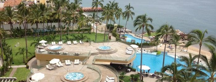 Sunset Plaza Beach Resort & Spa is one of Puerto Vallarta Hotels.