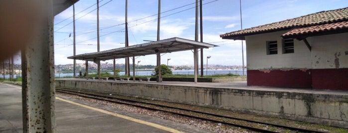 Estação de Trem de Plataforma is one of Lugares para curtir o pôr do sol em Salvador.