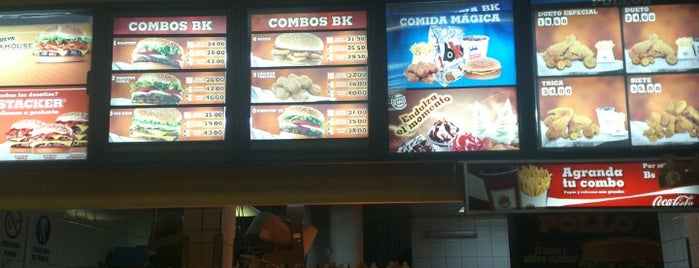 Burger King is one of Comidas.