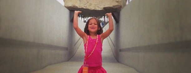 Levitated Mass is one of SoCal Shops, Art, Attractions.