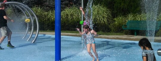 Powell Splash Pad is one of Most Playful Cities: Columbus, OH.