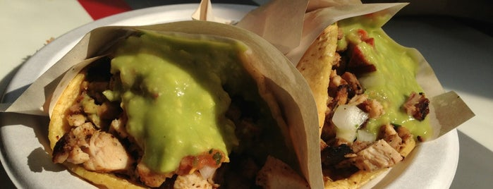 Los Tacos No.1 is one of NYC (-23rd): RESTAURANTS to try.