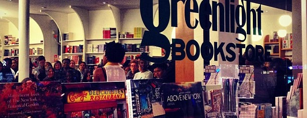 Greenlight Bookstore is one of NYC.
