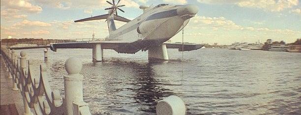 Музейно-мемориальный комплекс истории ВМФ России is one of moscow museums.