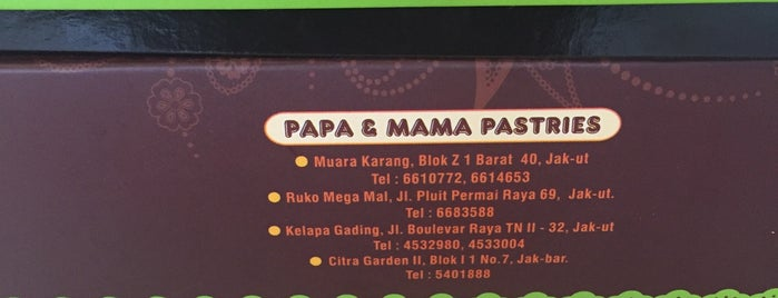 Papa & Mama Pastries is one of Bakery.