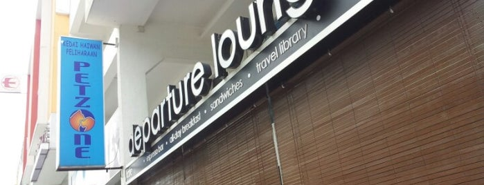 Departure Lounge is one of Yeh's Fav Food!! ^o^.