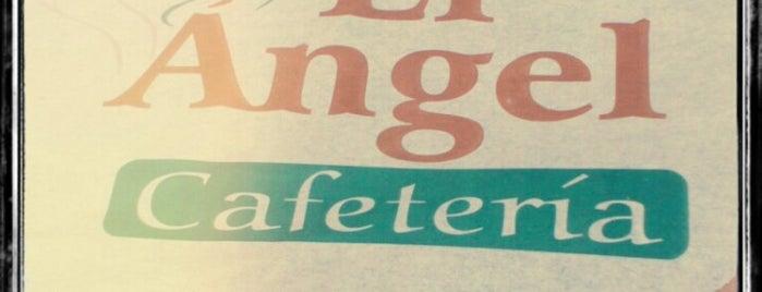 """""""El Ángel"""" Cafetería is one of Being here."""