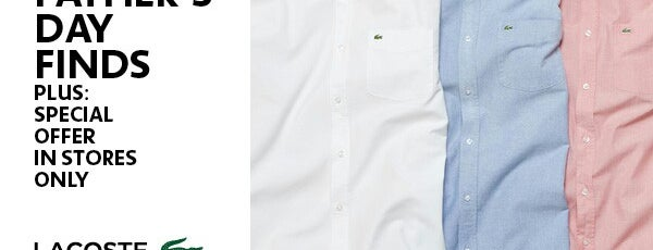 Lacoste Boutique is one of Best men's clothing store.
