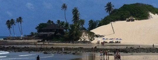 Praia de Genipabu is one of Praias RN.