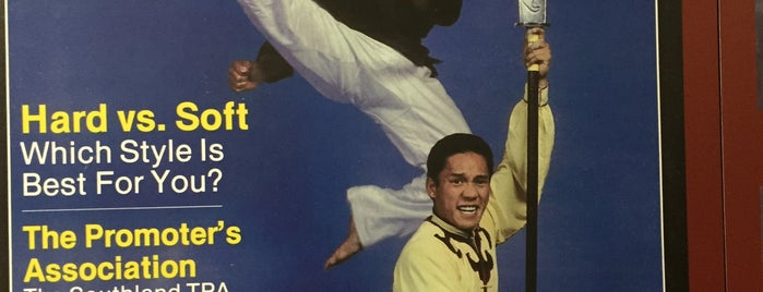 Martial Arts History Museum is one of Nikki Kreuzer's Offbeat L.A..