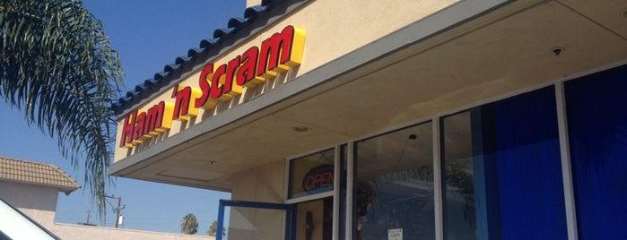 Ham 'n Scram is one of California's Top 20 Burrito Places.