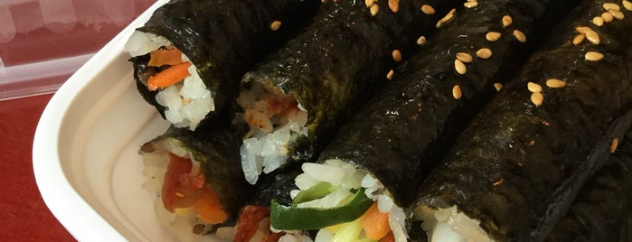 Kimbap is one of Eat&Drink Manhattan.