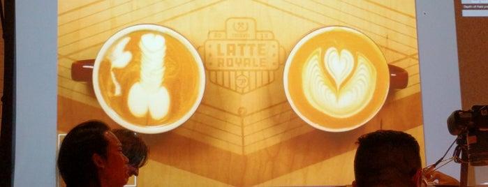 Propeller Coffee Co. is one of Kaffe steder.