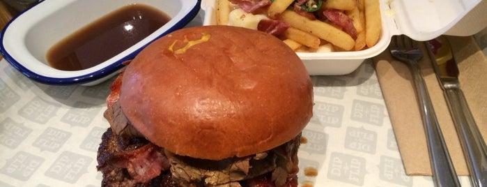 Dip & Flip is one of Burgers in London.