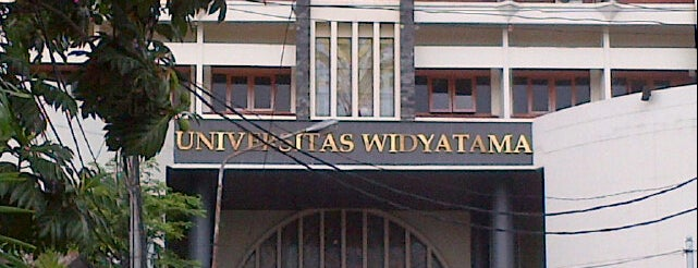 Universitas Widyatama is one of Must-visit Universities in Bandung.