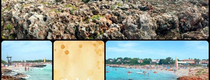 Playa Cala en Bosch is one of Menorca.