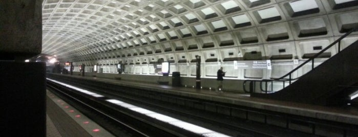 Judiciary Square Metro Station is one of WMATA Train Stations.