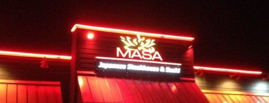 Masa Japanese Steakhouse is one of Restaurants visited.