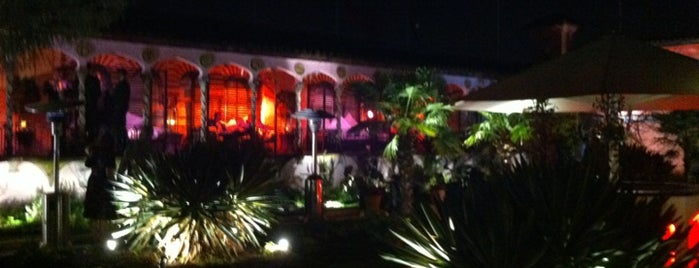 The Roof Gardens Club is one of London bars.