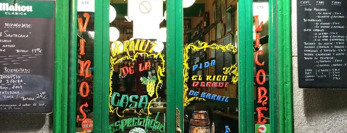 Bodegas Ricla is one of Barras Madrid.