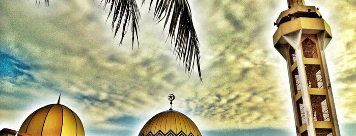 Masjid As-Syarif is one of masjid.