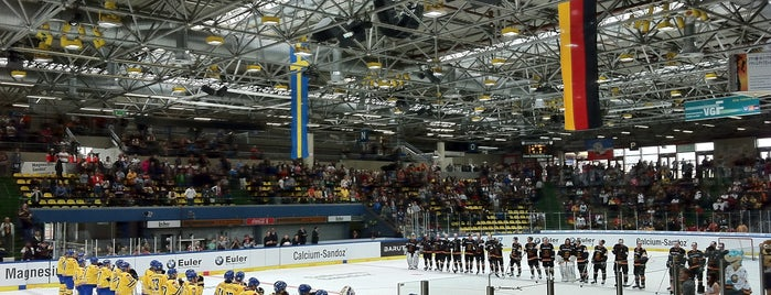 Eissporthalle Frankfurt is one of European places I've visited..