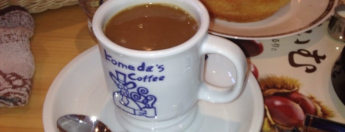 Komeda's Coffee is one of 行きたいところ.