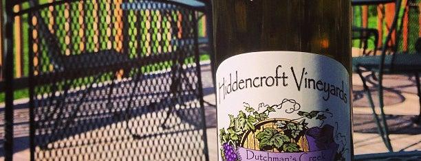 Hiddencroft Vineyards is one of Drink!.